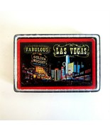 Vintage Fabulous Las Vegas Playing Cards in Plastic Display Box -Downtow... - $9.99