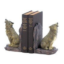 Howling Wolf Bookends - $29.95