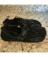 FILA Skeletoes men's black  Barefoot Performance RUNNING  Size 7 - $29.65