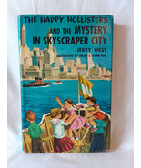 1 Vintage Happy Hollisters and the Mystery in Skyscraper City Mystery Book  - $8.99