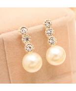 Jewelry, Latest White Pearl Earrings drop Studs Bride 72AZ - $5.99