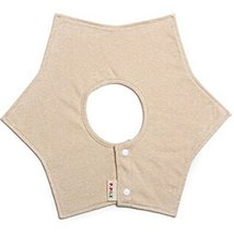 Hexagonal Sided Rotatable Baby Bibs Cotton Baby Bibs(Solid Colored)