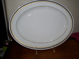 "Noritake Contemporary Fine China - Cordon (2217) -  13"" Oval Serving Platter - $62.95"