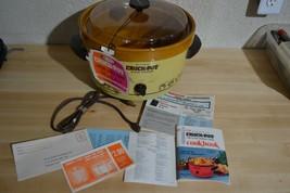Open Box Unused Rival Crock Pot 3302 5 Quart 3302 Lid Paperwork Tailgate... - $55.71