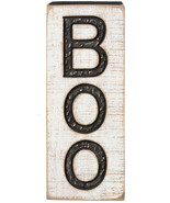 PBK Halloween Decor - BOO Carved Wood Porch Sign - $24.70