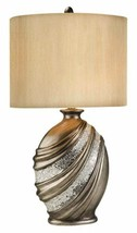 """Antique brass and silver finish Decorative Table Lamp 30.5"""" H- OK-4218T - $103.93"""