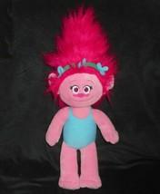 "19"" Build A Bear Dreamworks Troll Poppy Pink Hair Stuffed Animal Plush Toy Babw - $18.70"