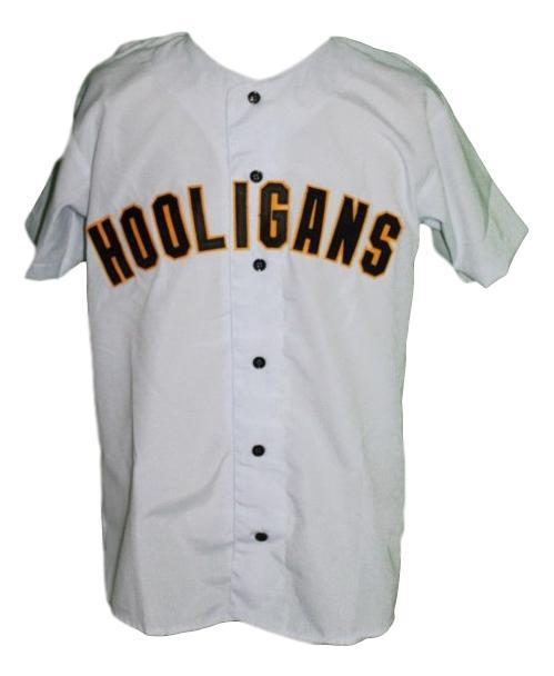 Bruno mars 24k hooligans baseball jersey button down white   1