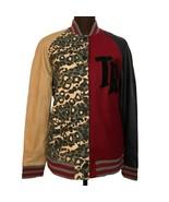 TRUE RELIGION Women's Logo Letterman Leather Jacket, Sz XS, MSRP $329 - $128.69