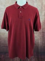 Polo Ralph Lauren Short Sleeve Mesh Red Polo Shirt Men's XL - $19.79