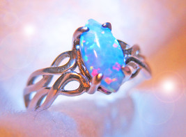 HAUNTED RING ALL THAT IS DIVINE EXQUISITE GIFTS HIGHEST ORDER OF WITCHES... - $153.89