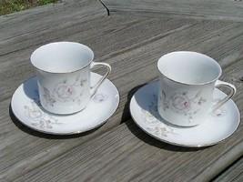 Sweetheart Rose Johann Haviland Lot 2 Cups + 2 Saucers - $24.99