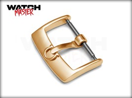 Buckle for OMEGA Watch 16mm 18mm 20mm Yellow Gold POLISHED Clasp for Leather Str - $9.99