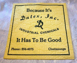 Datex, Inc. Industrial Chemicals Advertising WETTEX Chamois Cloth Chattanooga