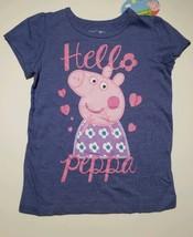 Peppa Pig T-Shirt Toddler Girls Size 5T Short Sleeve  NEW - $10.71