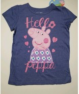 Peppa Pig T-Shirt Toddler Girls Size 5T Short Sleeve  NEW - $10.71
