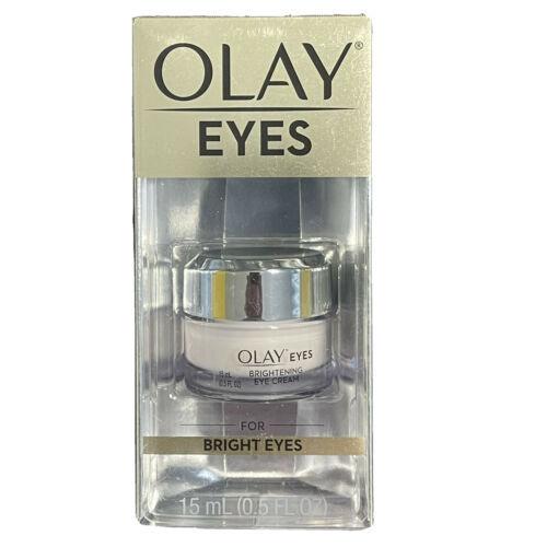 Olay Eyes Brightening Eye Cream for Bright Eyes .5oz - New - $12.84