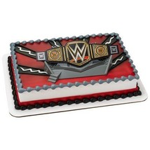 WWE Championship Ring DecoSet Cake Topper WWE Wrestling - $12.82