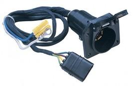 Hopkins Mfg. 47206 4-Wire Flat to Plastic 7-Wire RV Blade Harness - $21.99
