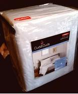 "$90 Cuddl Duds Sheet Set Snowflake Grey Lt Gray 17""Deep Pocket-100% Cott... - $49.47"