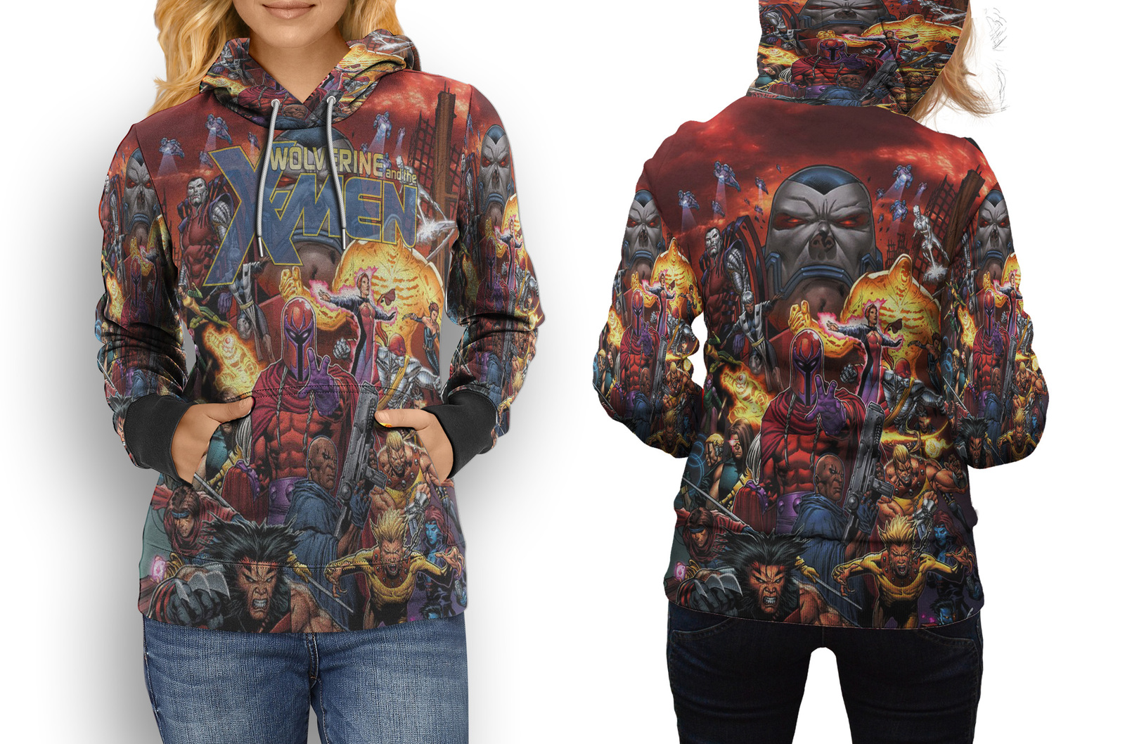 Primary image for Rare New X-MEN Marvel Hoodie Women's