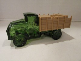 AVON DECANTER WINDJAMMER COLOGNE BIG MACK GREEN TRUCK  - $2.92