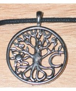 The Tree of Life Celtic Visions Pendant Necklace, NEW UNWORN - $9.74