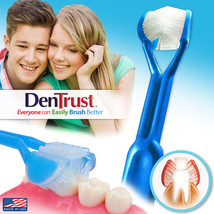 DenTrust | The Only Child-Safe 3-Sided Toothbrush *Clinically Proven Made in USA - $5.95