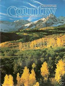 Primary image for Country Magazine October/November 2006