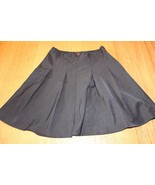 W11027 Womens LIMITED Black Trumpet A-Line Lined Knee Length Skirt SIZE ... - $28.97