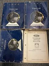1999 LINCOLN TOWN CAR Service Shop Workshop Manual Set OEM W EWD Factory... - $69.25
