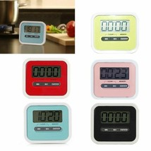 Hoomall® LCD Digital Screen Kitchen Timer Cooking Count Up Countdown Lou... - $5.90+