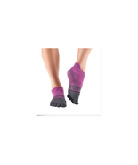 ToeSox Women's Low Rise Full Toe Grip Non-Slip Socks Size S NWT - $21.78