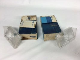 NOS 1971 1972 71 72 Ford LTD Galaxie Parking Lamp Lens Set Pair Left Right - $41.14