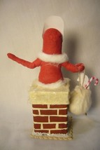 Vintage Inspired Spun Cotton, Chimney Santa, no. 89A image 2