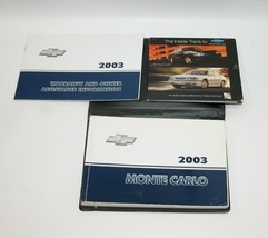 2003 Chevrolet Monte Carlo Factory Original Owners Manual Book Portfolio... - $17.77