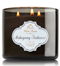 White Barn Mahogany Teakwood Three Wick 14.5 Ounces Scented Candle - $22.49