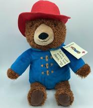 Paddington Bear Peluche Bleu Manteau Rouge Chapeau Animal Kohls Cares Neuf À Tag - $18.49