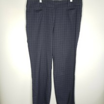 Ann Taylor Women's Blue Striped Straight Pants Career Size 14 - $9.99