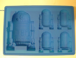 STAR WARS R2-D2 SILICONE BIRTHDAY MINI CAKE PAN CANDY MOLD ICE TRAY - $7.91