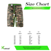 Men's Drawstring Elastic Waist Multi Pocket Lightweight Cotton Cargo Shorts image 2