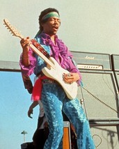 Jimi Hendrix Monterrey MM88 Vintage 11X14 Matted Color Music Memorabilia Photo - $14.99