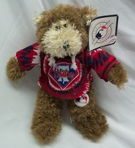 "PHILADELPHIA PHILLIES Baseball MLB TEDDY BEAR 8"" Plush STUFFED ANIMAL NEW - $14.85"