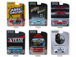 Greenlight Hollywood Series Release 23 Set of 6 Cars 1/64 Diecast  - $51.47