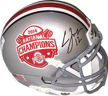 Primary image for Cardale Jones signed Ohio State Buckeyes 2014 National Championship Logo Authent