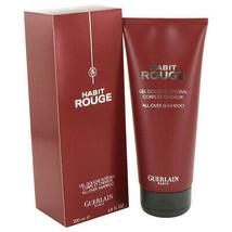 HABIT ROUGE by Guerlain Hair & Body Shower gel 6.8 oz (Men) - $53.33