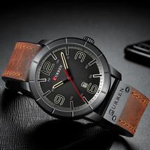 CURREN Brand Quartz Military Waterproof Wristwatch Date Relogio Masculino Analog - $37.11