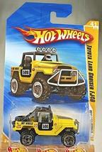 2010 Hot Wheels #41 New Models 41/44 Toyota Land Cruiser FJ40 Yellow Variation - $9.25