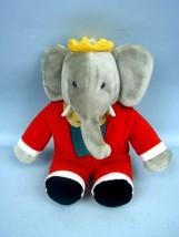 """14"""" Barbar the Elephant by Gund 1988 Tagged - $44.10"""