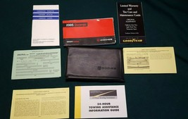 2005 Dodge Durango Owner Owner's Manual & Supplemental Documents with Case  - $13.58